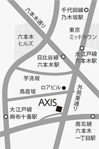axis地図